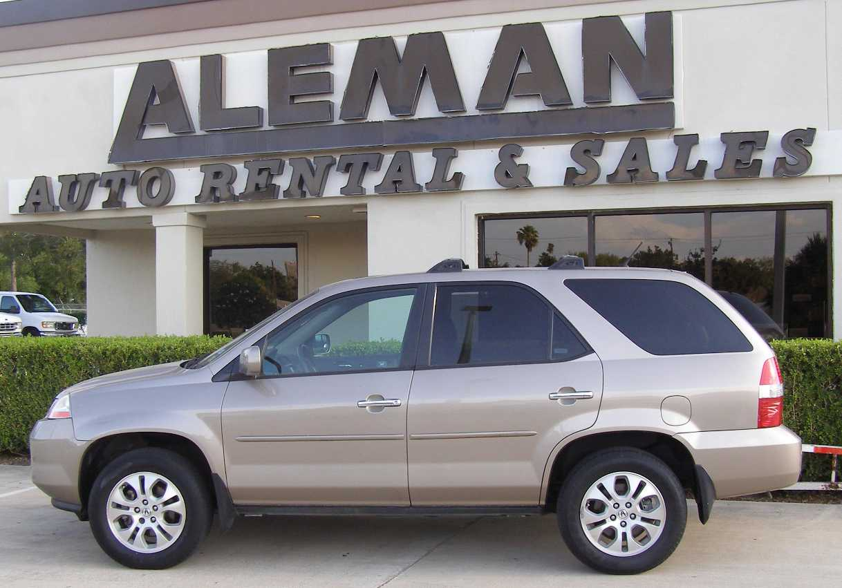 Aleman Auto Sales Photos Of Unit 10414 2003 Acura Mdx Suv